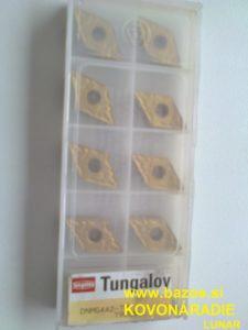 Plátky na sústruženie, TK plátky Sandvik, plátky TK Tungaloy