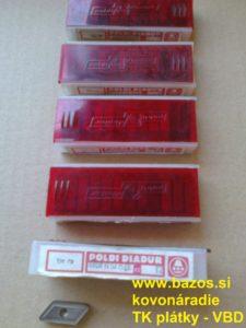 Plátky na nože, plátky TK KNUX 190415 ER S20 CN, VBD SK