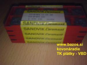 TK plátky, rezné plátky, plátky na nože SNMM 120408 135 P35 20356