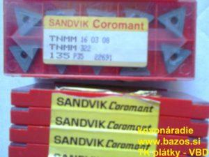 VBD SK, plátky na nože, plátky TK TNMM 160308 135 P35 22691