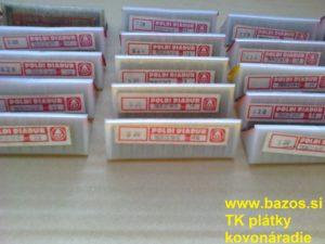 Plátky TK, TK plátky, plátky k nožom TNUN 220412 S20