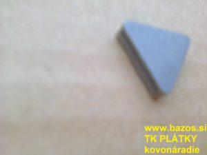 TK plátky, platničky na nože TNUN 220412 S30, plátky na kovy