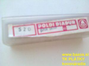 Frézovacie plátky, plátky na frézu, frézovacie TK plátky SPUN 120308 S20