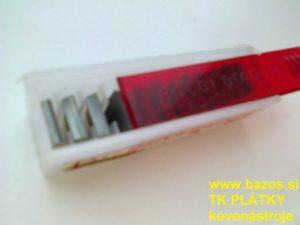 Výmenné plátky, nožové plátky, TK plátky C12PF4E S2