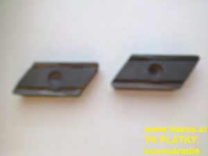 Plátky do nožov, TK plátky, doštičky k nožom KNUX 190410 FR 22