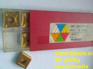 TK plátky, plátky do nožov, plátky Plansee, CNMM 190616 SN-TRR GM 537 HC P35M25