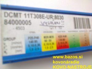 Doštičky do nožov, doštičky k nožom, VBD – plátky, DCMT 11T308E-UR 8030