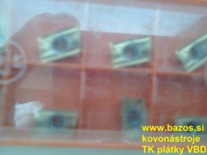 Výmenné plátky, TK plátky R390-11 T304 M-PM 1030, VBD – plátky