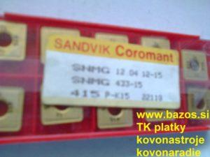 Plátky na nože, TK plátky, plátky k nožom, plátky TK, plátky do nožov, plátky Sandvik, VBD Sandvik