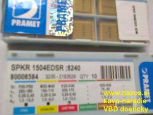 Plátky na frézu, plátky na frézovanie, VBD SK, SPKR 1504 EDSR 8240 80008583
