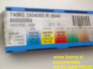 TK plátky, plátky k nožom, plátky na nože, TNMG 160408E-R-SI 6630