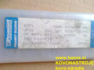 Plátky Pramet výmenné doštičky, výmenné plátky, TNMG 220408E-DM H10 ISO K10-K15
