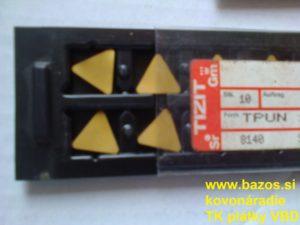 Výmenné plátky, TK plátky, plátky na sústruženie TPUN 160312 EN P15 K15 C