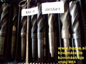 Vrtáky MK4, vrták, vrtáky, vrták kužeľový, vrtáky do kovu