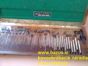 Meracie drôtiky na závity, meracie drôtiky - kontrola závitov, kontrolné mierky závitov