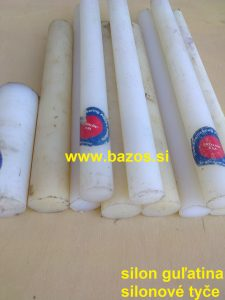 Silon, silonová guľatina, materiál - silon, silon k sústruženiu, TOP