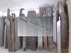 Sústružnícke nože, sústružnícke nože kované, kované sústružnícke nože, sústružnícky nôž ČSN 223550