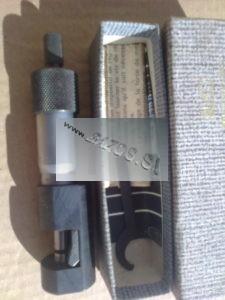 Mikrometer na drôt, mikrometer na ozubené kolesá, strojárske meradlo, kovoobrábacie meradlo