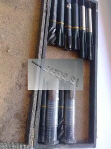 Závitníky metrické, strojné závitníky, strojné závitníky M16, strojné závitníky M20, závitník na rezanie závitu